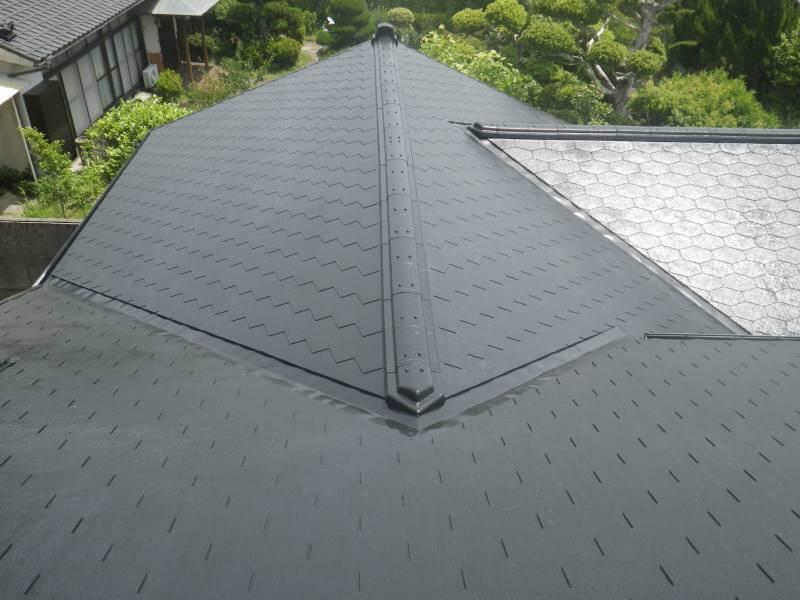 屋根塗装アフター